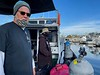 Bill Van Antwerp, Giant Stride deckhand<br /> Cabrillo Way Marina, Los Angeles Harbor<br /> San Pedro, California<br /> December 12, 2020