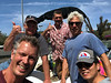 Volker, Rick, Steve, Jim & Kevin<br /> Dana Landing parking lot, Mission Bay, California<br /> May 4, 2019