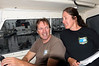 """Merry and Phil, captain duo of the """"No Pressure"""".<br /> King Harbor, California USA"""