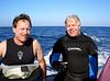 Tim L. & Mike<br /> Catalina Island