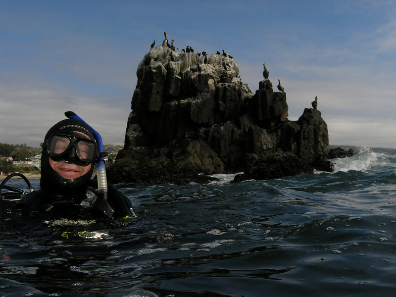 Mike O.<br /> Seal Rock, Crescent Bay, Laguna Beach, California