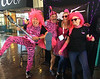 "Scuba Show 2019: Hamming it up with Stevie, Alli, & Deb, at the Dive Into The Pink booth at the 2019 Scuba Show.  The non-profit organization was founded by Allison Vitsky Sallmon, a cancer survivor, dedicated to raising funds to fight breast cancer.<br /> <a href=""https://www.diveintothepink.org/"">https://www.diveintothepink.org/</a>"