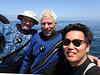 Stevie, JR & Kevin<br /> T-Rex dive site, Pt. Loma, California<br /> May 4, 2019