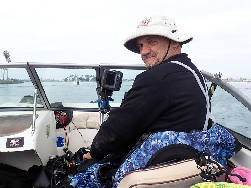 Stevie navigates out of Mission Bay<br /> May 4, 2019