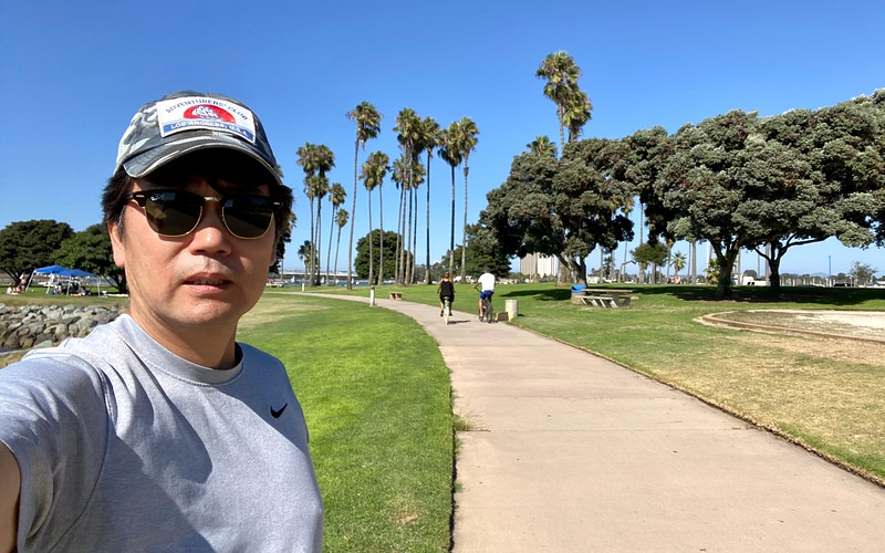 Kevin Lee<br /> Mission Point Park<br /> Mission Bay, California<br /> August 30, 2020