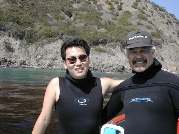 Tony N. & Kevin L.<br /> Catalina Island, California