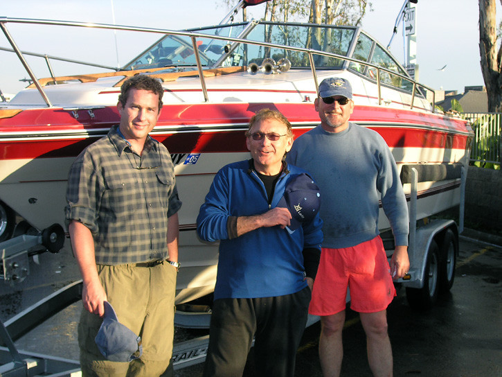 Dale D., Rick C. & Dale L.<br /> Dayna Point, California