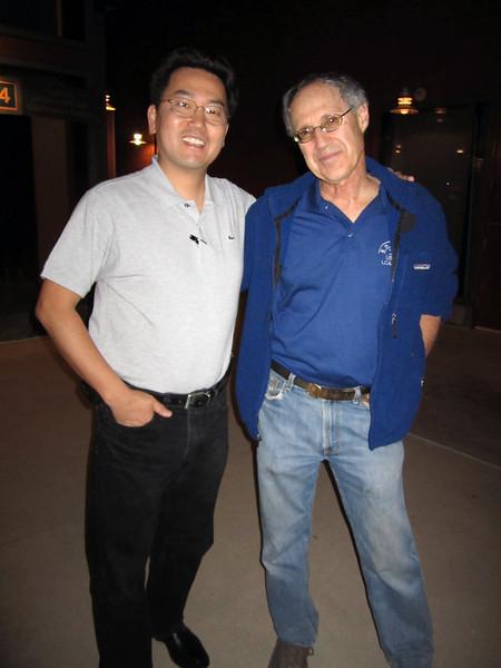 Dr. Milton Love & Kevin Lee<br /> Ocean Institute, Dana Point, CA