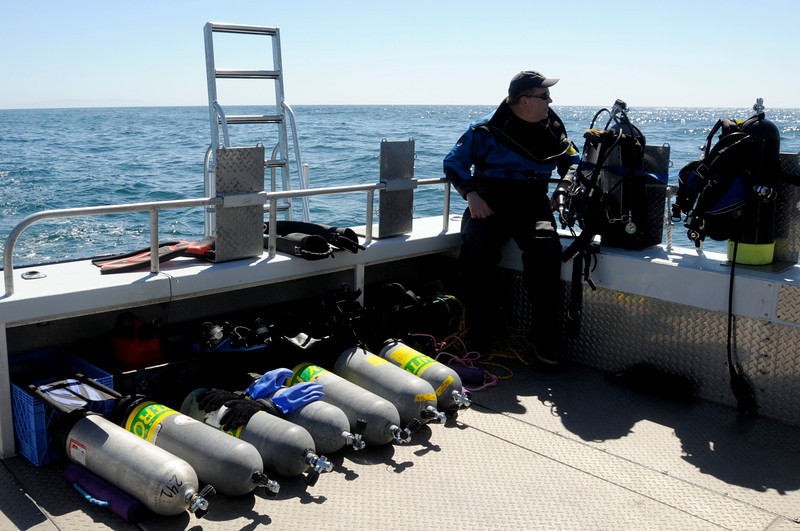 Bill on the lookout for Blue Whales<br /> Palos Verdes