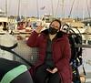 Michelle Hoalton aboard The Giant Stride<br /> November 29, 2020