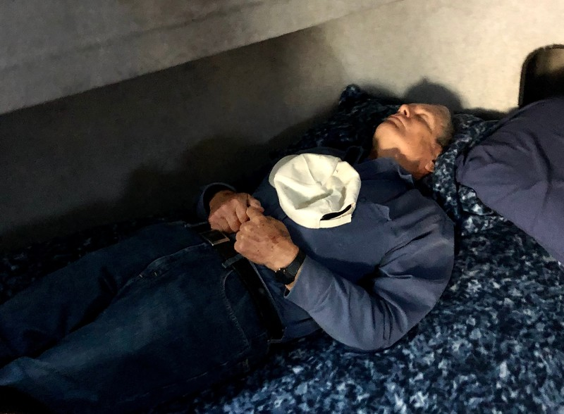 John Bibb, dead tired... <br /> October 12, 2019