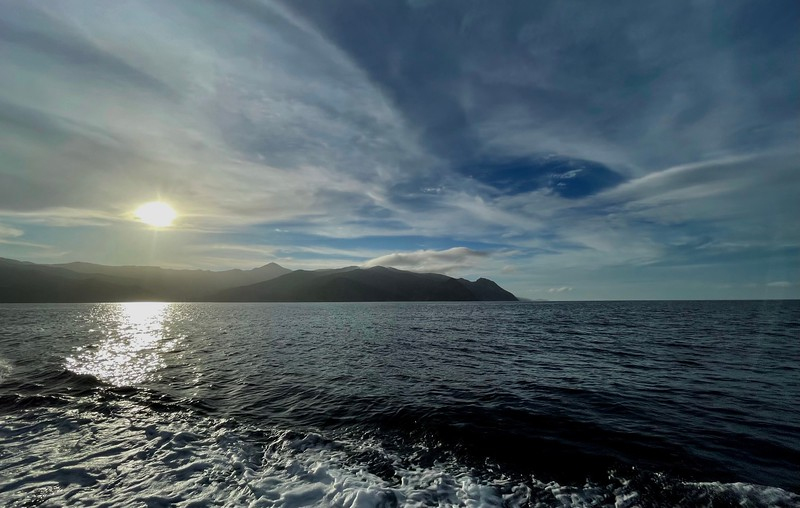 Departing Catalina Island <br /> The Giant Stride<br /> January 2, 2021