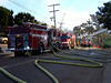 Fire @ LJS 3; August 26, 2005<br /> La Jolla Shores, California
