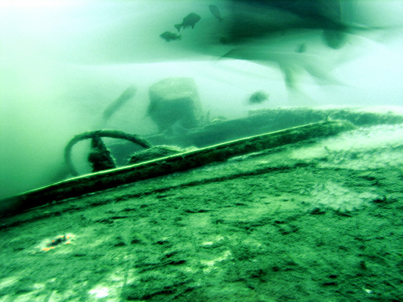 Cabezon Cruiser @ 90 ft (September 2006) - much deeper now<br /> La Jolla Shores, California USA