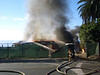 Fire @ LJS 2; August 26, 2005<br /> La Jolla Shores