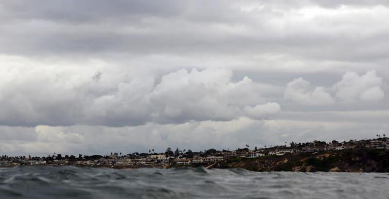 Clouds over Redondo Beach, California