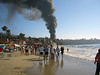 Fire @ LJS 1; August 26, 2005<br /> La Jolla Shores, California