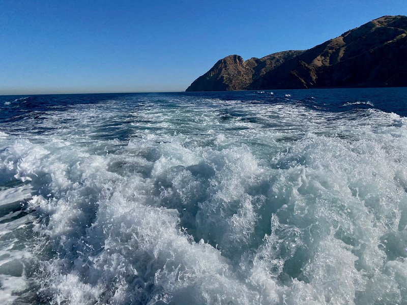 Catalina Island<br /> Giant Stride<br /> November 29, 2020