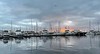 Dawn over Cabrillo Way Marina<br /> December 12, 2020