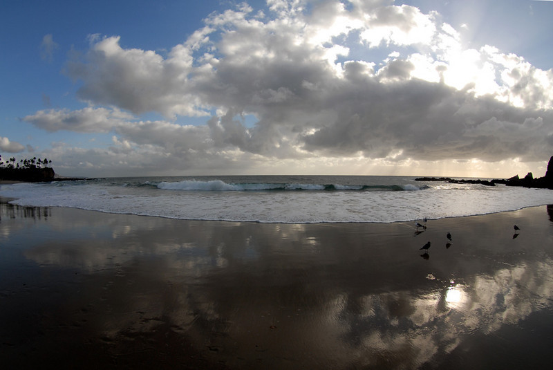 Crescent Beach, Laguna Beach, California
