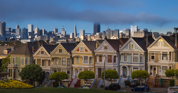 san francisco: painted ladies