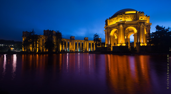 palace of fine arts san francisco