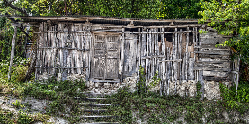 Cane house in Guatemala