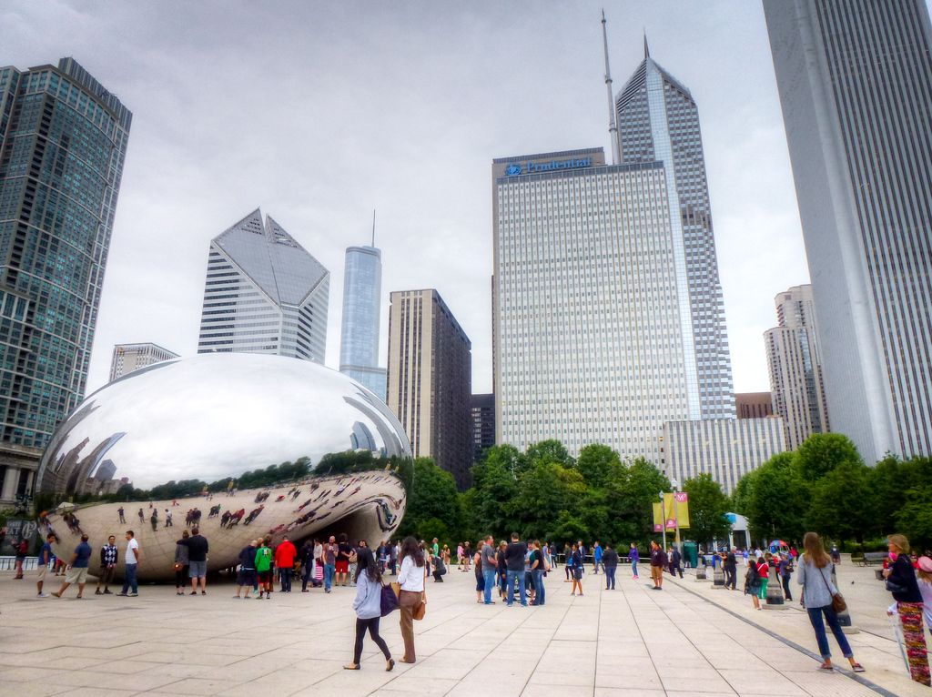 The Endless Angles Of The Chicago Bean