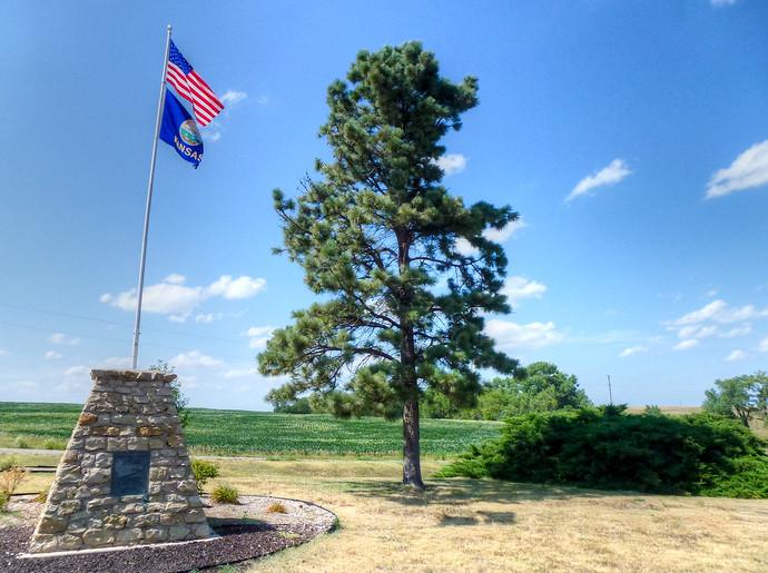american flag kansas