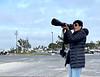 Linda shooting nesting ospreys.<br /> Huntington Beach, CA<br /> May 1, 2021