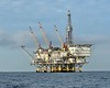 Oil Rig Platform: Eureka.<br /> Catalina Channel, Giant Stride<br /> March 18, 2021<br /> <br /> District: California.  Location: Offshore Long Beach, CA.  Installed: 7-8-1984.  Lease OCS-P 0301.  First Production: 3-17-1985. Distance to Land: 9.0 miles.  Well Slots: 60. Water Depth: 700'.  Cum. Oil Production: 44,860,000 bbls.  Cum. Gas Production: 10,162,000 mcf. Cumulative production listed is as of October 1, 2017.<br /> <br /> The Eureka platform is Operated by Beta Operating Company, LLC