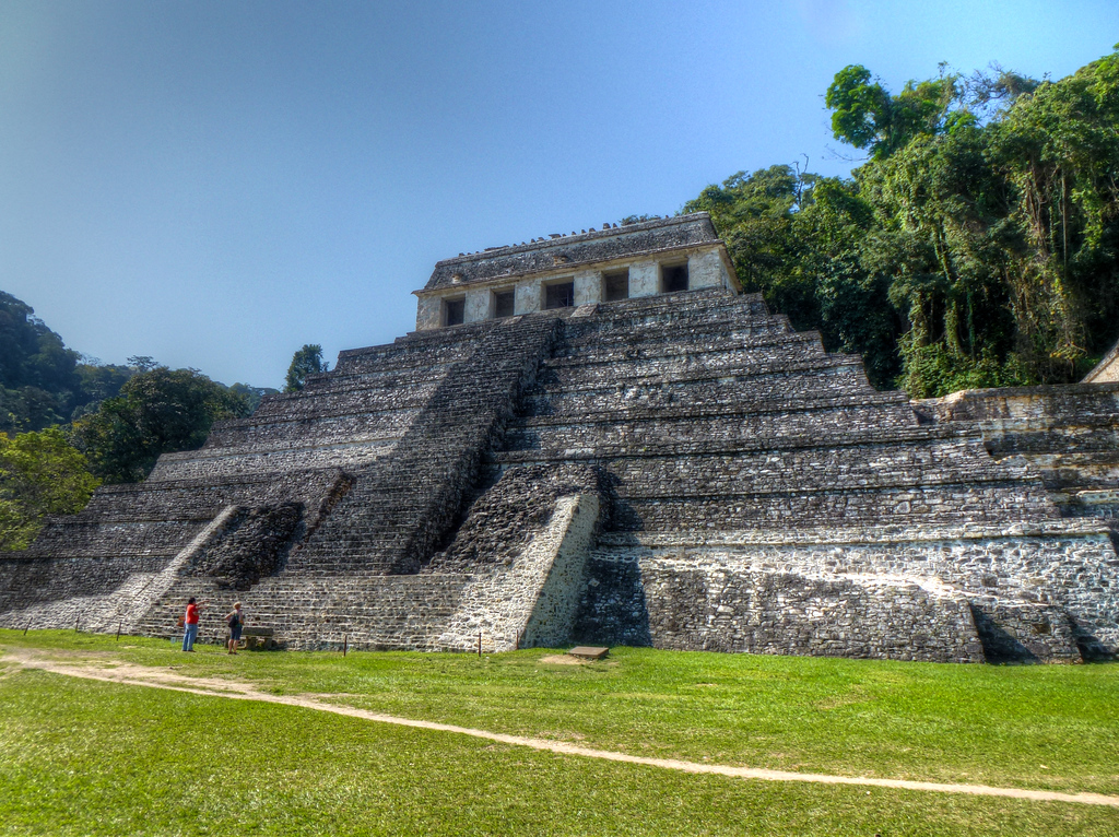The Temple Of Inscriptions, Palanque, Mexico