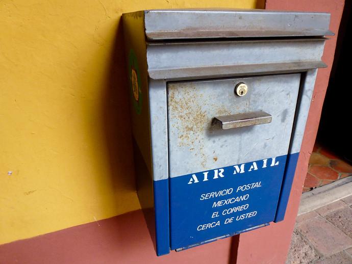 air mail box mexico