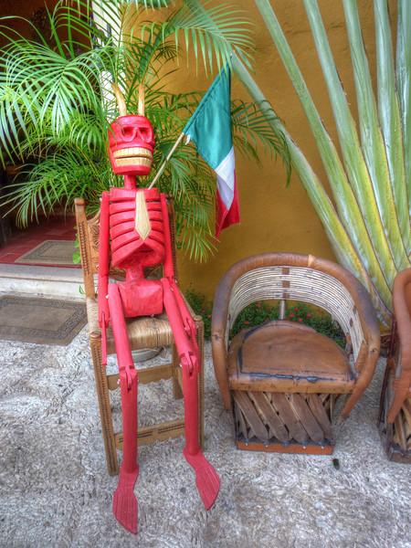 mexican skelton