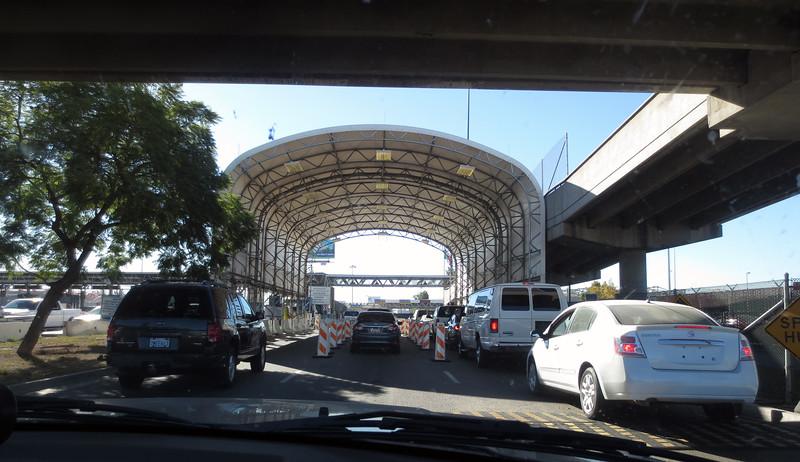 Entry into Mexico, at Otay Mesa Tijuana<br /> Alternate Tijauna entry is San Isidro.