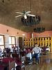 Restaurant with vaulted ceiling.<br /> Hotel Mision Catavina, Catavina, Baja California, Mexico<br /> Photo: H. Bertsch