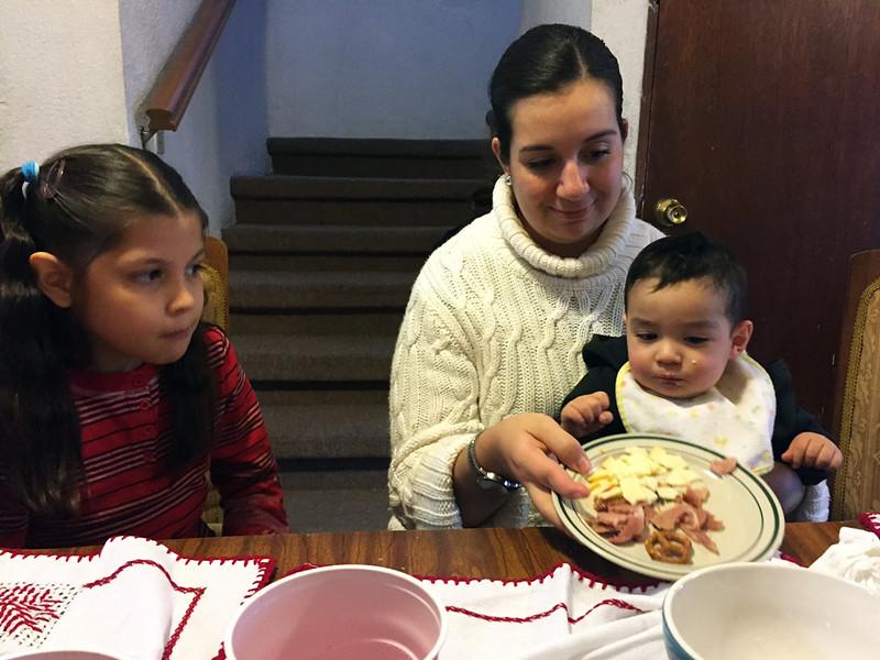 Ivette, Lalito & Olga<br /> Christmas Day, 2015<br /> Tijuana, Mexico