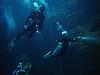 Daniel, Sarah & Scott<br /> The Pit Cenote