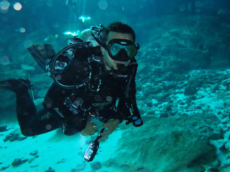 Daniel<br /> Dos Ojos Cenote
