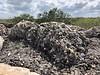 Coral stone building material<br /> Ek Balam, Yucatan