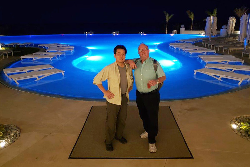 Scott & Kevin<br /> Le Blanc Palace Resort<br /> Cancun, Mexico