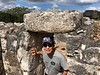 Top of Oval Temple<br /> Ek Balam, Yucatan<br /> Photo by Scott Warner