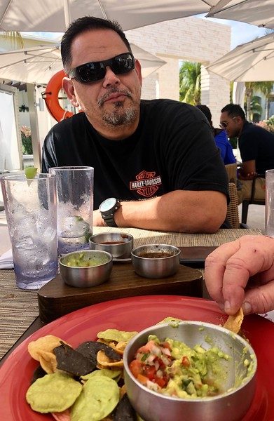 Taco lunch at Moon Palace<br /> Cancun, Mexico