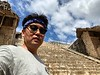 Steps up the Acropolis<br /> Ek Balam, Yucatan