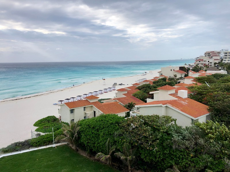 View from our 5th floor room, Le Blanc Resort<br /> Cancun, Mexico