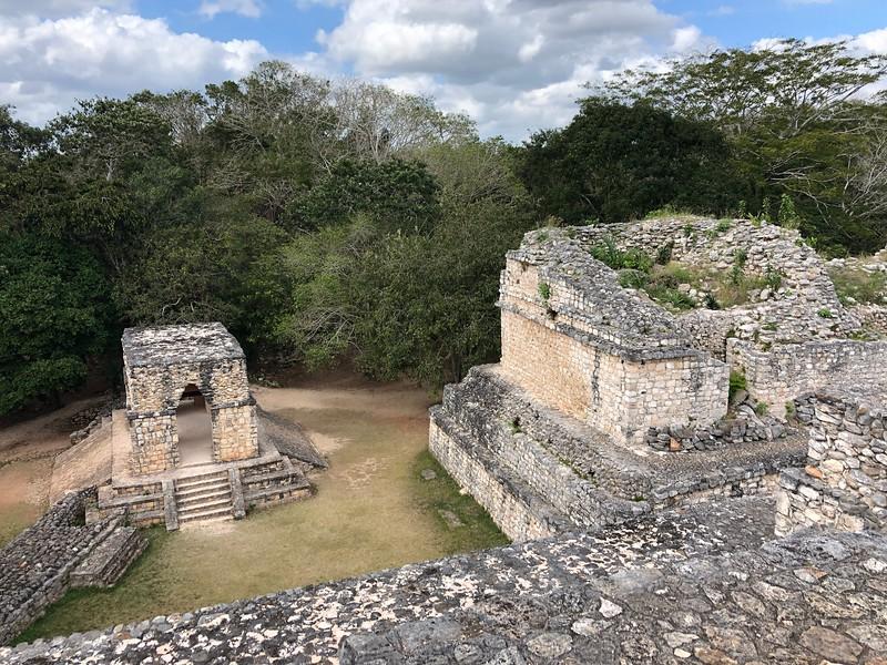 Entrance edifice<br /> Ek Balam, Yucatan