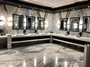 Opulent restroom, Grand Hotel, Moon Palace Resort<br /> Cancun, Mexico