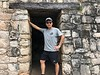 Entrance, side entry<br /> Ek Balam, Yucatan