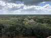 Southern view from the top of the Acropolis<br /> Ek Balam, Yucatan