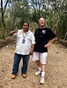 Casimiro, our official guide, with Scott, at Ek Balam, Temozón, Yucatan